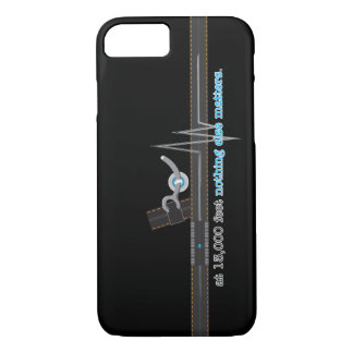Capa iPhone 8/ 7 Skydiving que fecha o iPhone 7 do Pin, mal lá