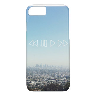 Capa iPhone 8/ 7 Skyline de Los Angeles - Califórnia