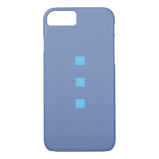 Capa iPhone 8/ 7 Smartphone case em points blue with