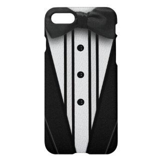 Capa iPhone 8/7 Smoking preto com laço