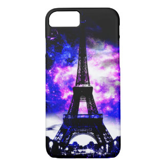 Capa iPhone 8/ 7 Sonhos parisienses do rosa da ametista