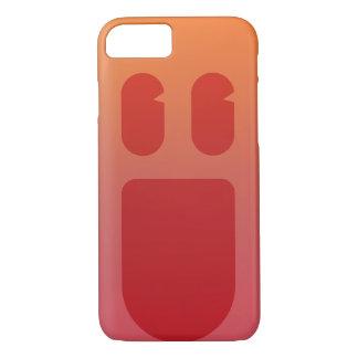 Capa iPhone 8/ 7 Sorriso vermelho Phonecase