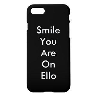 Capa iPhone 8/7 Sorriso você em Ello