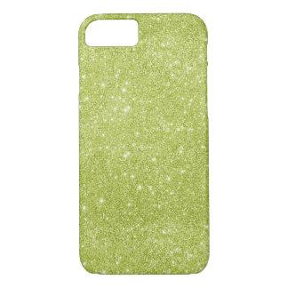 Capa iPhone 8/ 7 Sparkles do brilho do verde limão