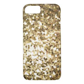 Capa iPhone 8/ 7 Sparkles do Glitz do ouro
