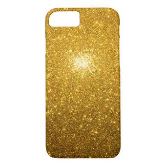 Capa iPhone 8/ 7 Sparkles dourados