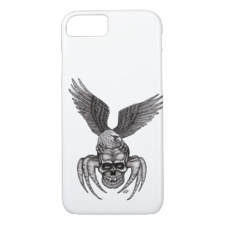 Capa iPhone 8/ 7 Spiderskull com Eagle