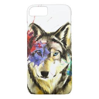 Capa iPhone 8/ 7 Splatter do lobo