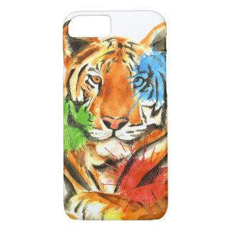 Capa iPhone 8/ 7 Splatter do tigre