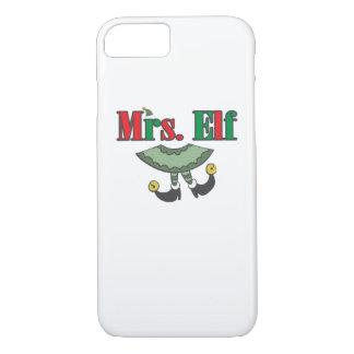 Capa iPhone 8/ 7 Sra. Duende Matching Acoplamento Natal