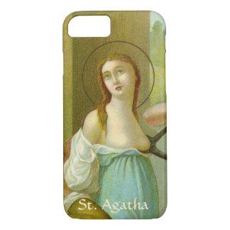 Capa iPhone 8/ 7 St. Agatha (M 003) mal lá