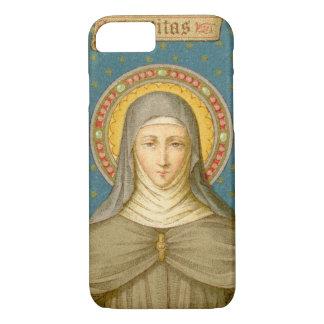 Capa iPhone 8/ 7 St. Clare de Assisi (SAU 027) mal lá