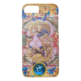 Capa iPhone 8/ 7 St Michael a antiguidade do monograma do arcanjo