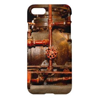 Capa iPhone 8/7 Steampunk - sonhos de tubulação