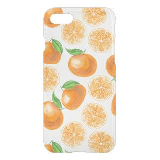 Capa iPhone 8/7 Tangerinas da aguarela