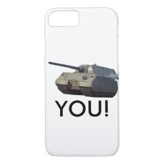 Capa iPhone 8/ 7 Tanque do rato! Edição limitada