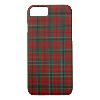 Capa iPhone 8/ 7 Tartan MacLean moderno escocês de Maclean de Duart