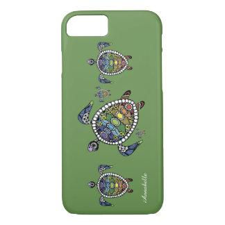 Capa iPhone 8/ 7 Tartaruga Chakras
