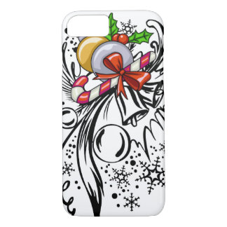 Capa iPhone 8/ 7 Tatuagem do Natal