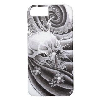 Capa iPhone 8/ 7 Tatuagem tradicional asiático - Iphone 8/7 de caso
