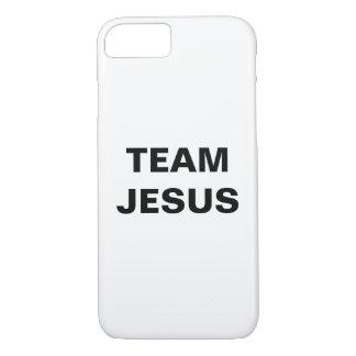 """Capa iPhone 8/ 7 """"Team o iPhone de Jesus"""" Apple 8/7 de caso"""