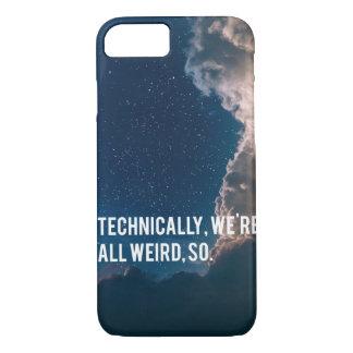 Capa iPhone 8/ 7 Tècnica, nós somos tudo estranhos, assim