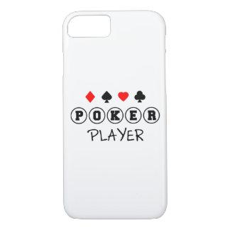 Capa iPhone 8/ 7 Telefone do exemplo do jogador de póquer