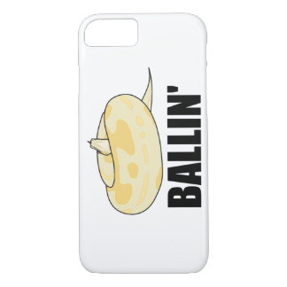 Capa iPhone 8/ 7 Telefone do pitão da bola de Ballin