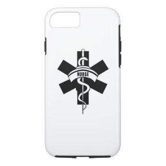 Capa iPhone 8/ 7 Telefones da enfermeira