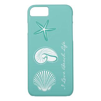 Capa iPhone 8/ 7 Tema da praia do verão