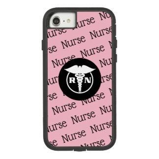 Capa iPhone 8/ 7 Tema médico da enfermeira diplomada