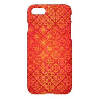 Capa iPhone 8/7 Teste padrão antigo real luxuoso floral