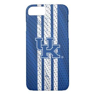 Capa iPhone 8/ 7 Teste padrão BRITÂNICO do jérsei de Kentucky |