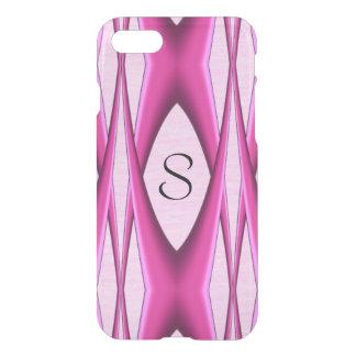 Capa iPhone 8/7 Teste padrão cor-de-rosa