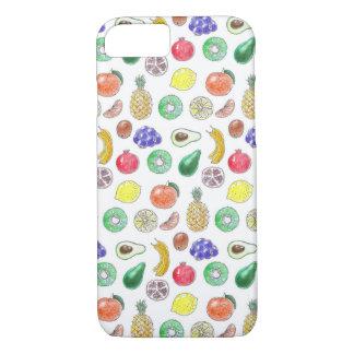 Capa iPhone 8/ 7 Teste padrão da fruta