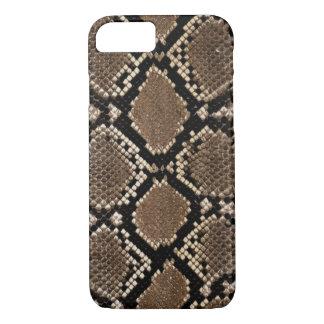 Capa iPhone 8/ 7 Teste padrão da pele de cobra