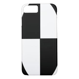 Capa iPhone 8/ 7 Teste padrão de Black&White