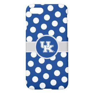 Capa iPhone 8/7 Teste padrão de bolinhas BRITÂNICO de Kentucky |