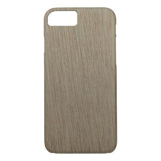 Capa iPhone 8/ 7 Teste padrão de madeira da grão de Boca do La