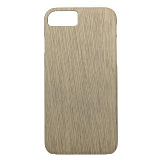 Capa iPhone 8/ 7 Teste padrão de madeira da grão do Sepia