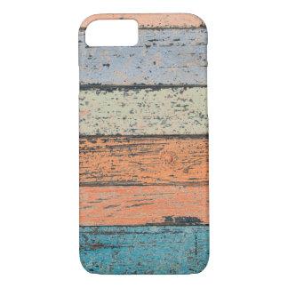 Capa iPhone 8/ 7 Teste padrão de madeira gasto