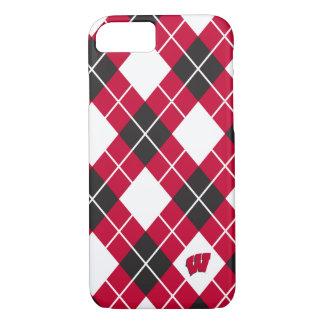 Capa iPhone 8/ 7 Teste padrão de Wisconsin | Argyle