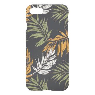 Capa iPhone 8/7 Teste padrão do estilo da queda de Fonds da palma