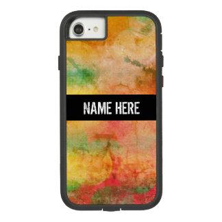 Capa iPhone 8/ 7 Teste padrão do estilo de Bokeh do Grunge