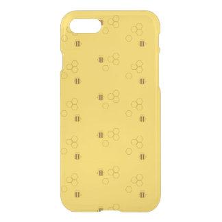 Capa iPhone 8/7 Teste padrão do favo de mel da abelha