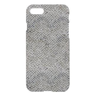 Capa iPhone 8/7 Teste padrão do preto e da pele de cobra de Brown