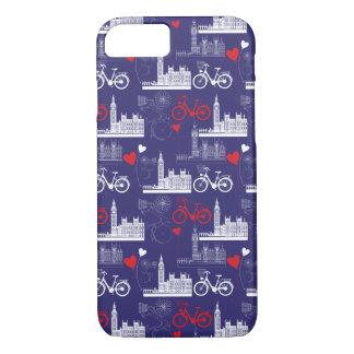 Capa iPhone 8/ 7 Teste padrão dos marcos de Londres