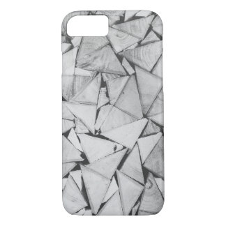 Capa iPhone 8/ 7 Teste padrão dos triângulos do caso