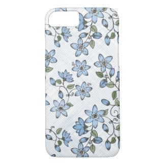 Capa iPhone 8/ 7 Teste padrão floral 2