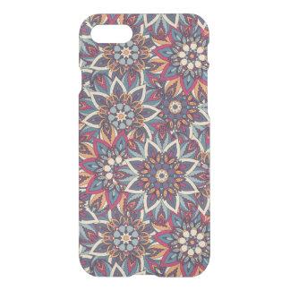Capa iPhone 8/7 Teste padrão floral étnico abstrato colorido da